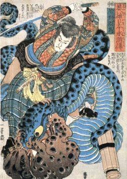 Jiraiya vs Orochimaru