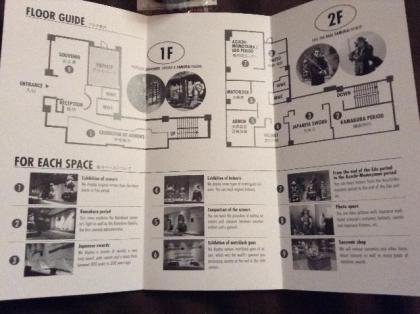 Samurai Museum Floor Guide
