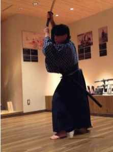 Samurai swordsmanship demonstration (1)