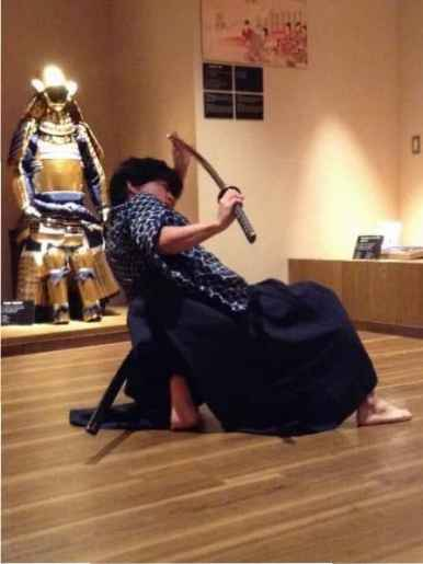 Samurai swordsmanship demonstration (5)
