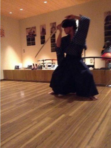 Samurai swordsmanship demonstration (6)