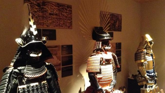 The armors of Oda Nobunaga, Toyotomi Hideyoshi and Tokugawa Ieyasu