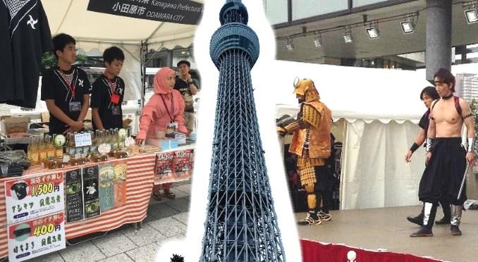 Ninja Matsuri Festival at Tokyo Skytree