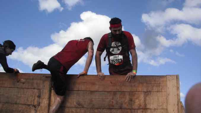 8 foot tall wall - obstacle course races