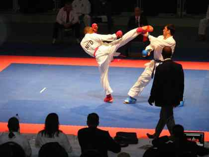 Karate Tournament 2011 via Claus Michelfelder