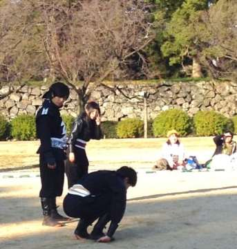 Hanzo Group - Walking on hands