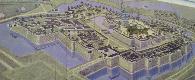 "Osaka Castle ""Blueprint"""