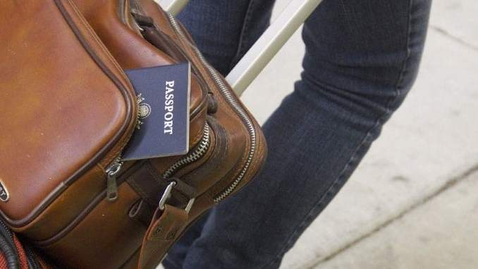 Passport & luggage