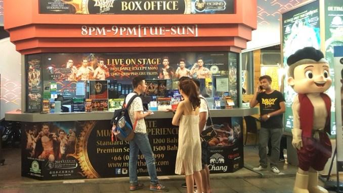 Muay Thai Live Booth - Logen, Way Of Ninja