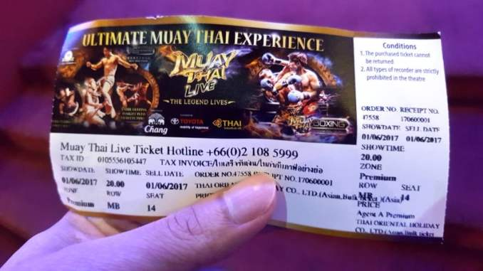 Premium ticket for Muay Thai Live - Logen, Way Of Ninja