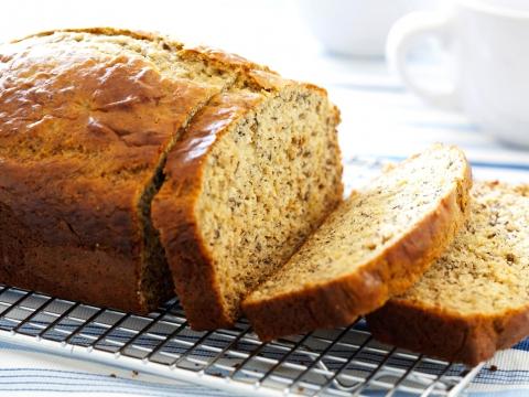 bananenbrood gezond tussendoortje recept zonder suiker