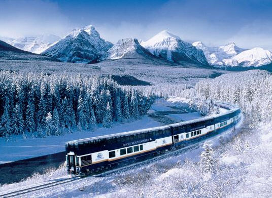 Rocky Mountaineer, Canada