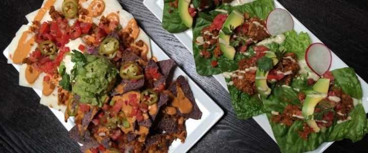 Nachos and Raw Tacos