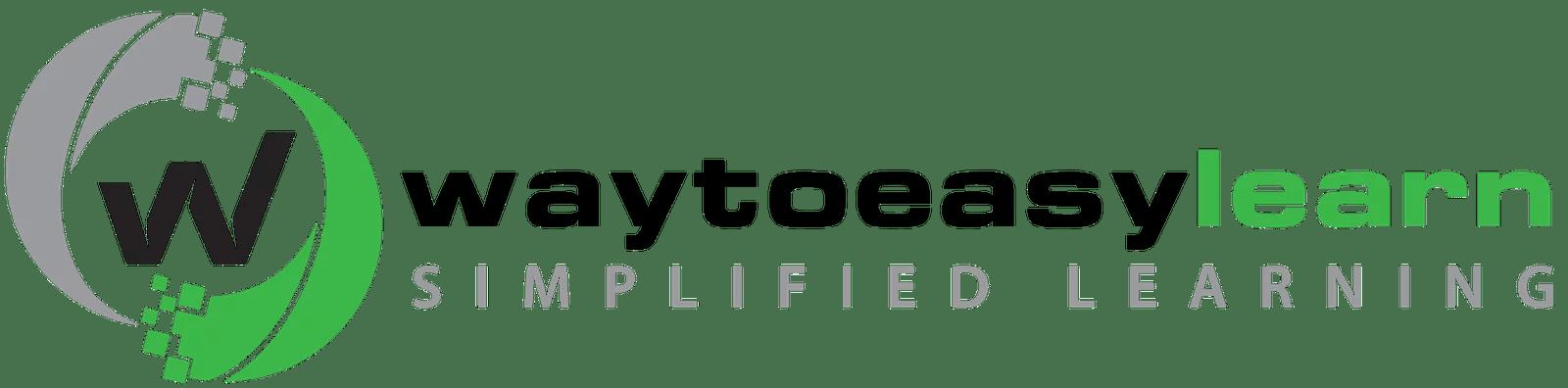 Waytoeasylearn