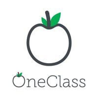This image shows the official logo to represent OneClass