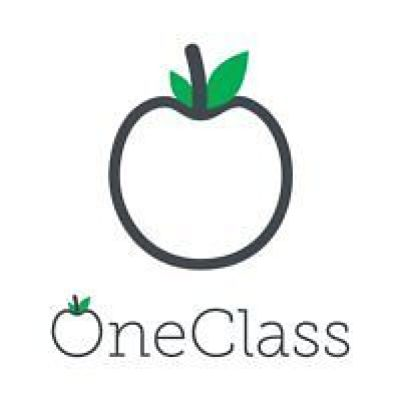 This image shows the official logo which represents the online website OneClass.