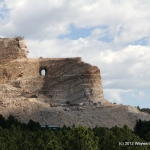 Closest shot I could get of Crazy Horse