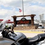 I rode mine to Sturgis