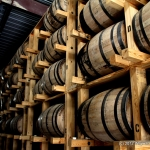 Wyoming Whiskey barrels