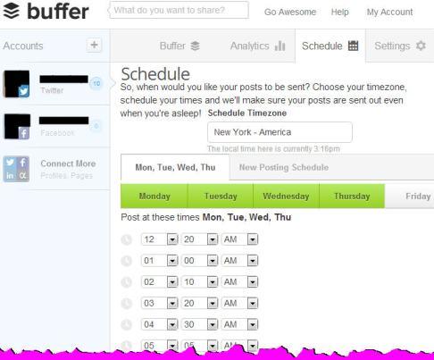 buffer_schedule