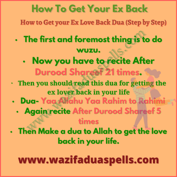 Copy of Powerful Dua for Love Back In One Day 2
