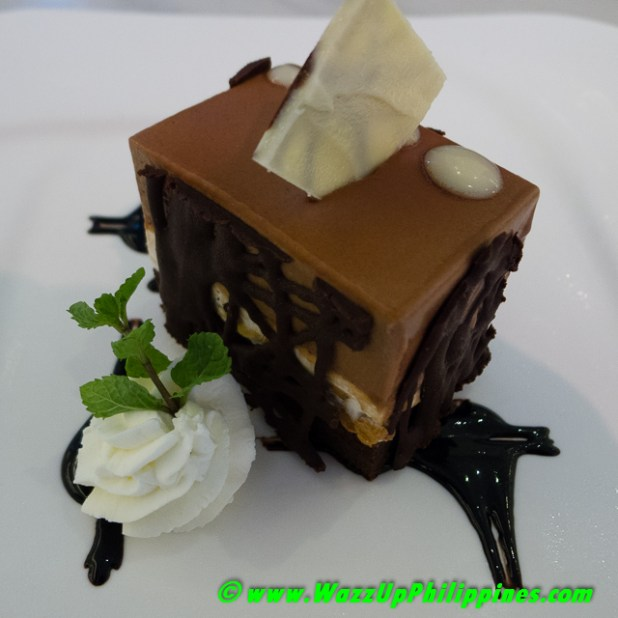 Cafe 1771-Gianduja Truffle Mousse Cake