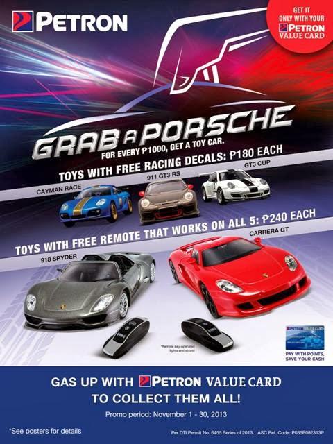 Petron 2013 Grab a Porsche Promo Poster