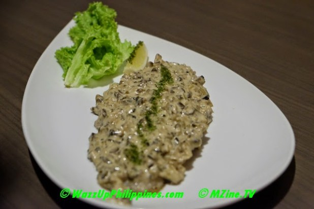 Photo of Mushroom Duxelles Fish Fillet Dish