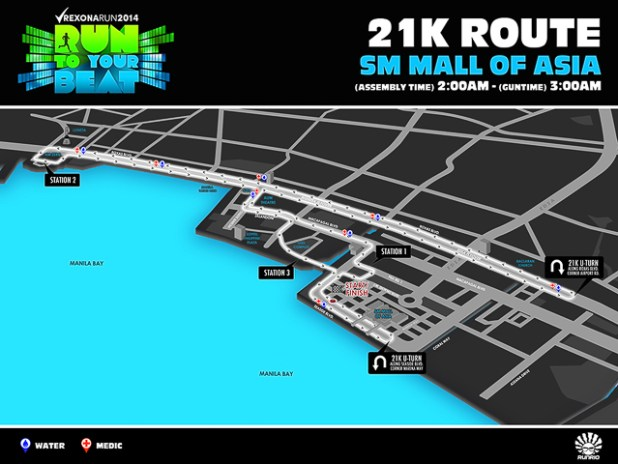 rexona run 2014 run to your beat registration map 5k 10k 21k--2