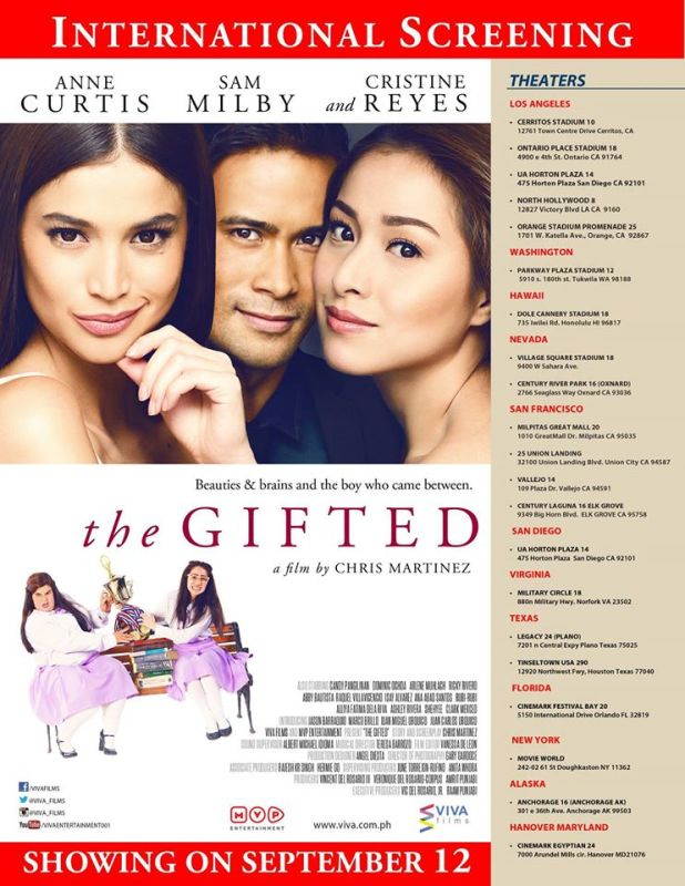 the gifted international screening