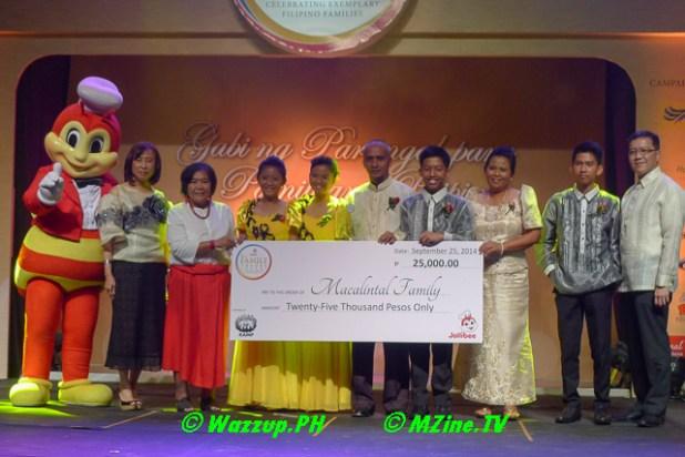 Special Citation for Minority Groups (endorsed by the Kalipunan ng mga Katutubong Mamamayan ng Pilipinas) - Mr. Alvin and Mrs. Rina Macalintal and family of Victoria, Oriental Mindoro