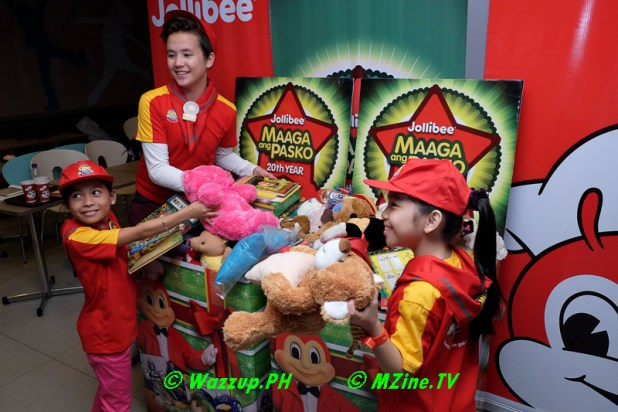 The voice kids at Jollibee Maaga Pasko Launch-9977