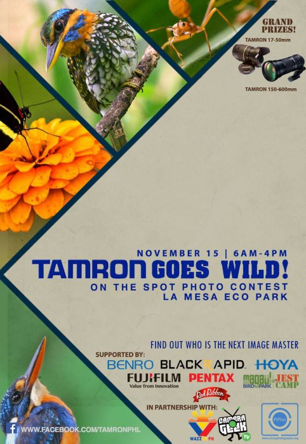 Tamron Goes Wild On the Spot photo contest