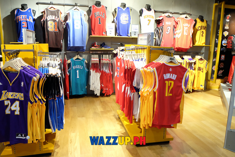 9a1efc8b90a7 NBA Store Opens The Largest Store Outside U.S. in Glorietta 3 Makati ...