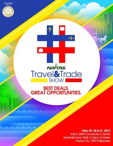 NAITAS Travel and  Trade Show poster