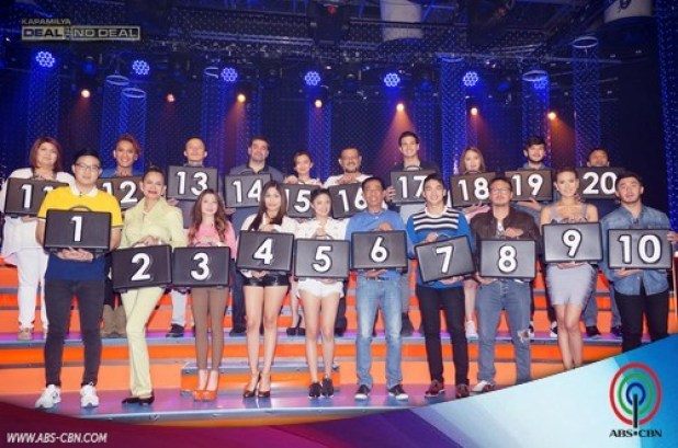 kapamilya deal or no deal 20 lucky stars 1st batch