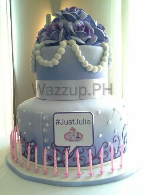 julia barretto 18th birthday debut #justjulia_wm