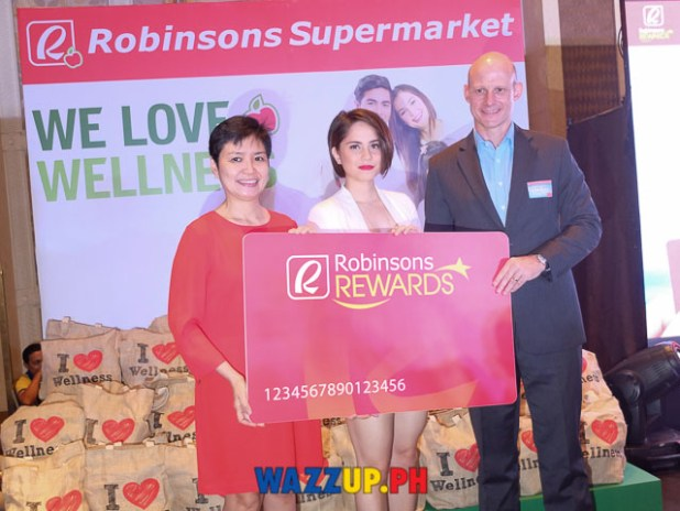 robinson reward cards caltex with Jessy Mendiola
