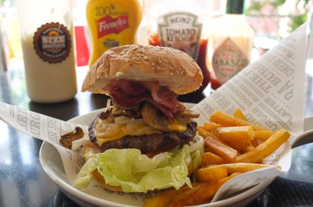 size matters pasig The Works Burger (TWB)