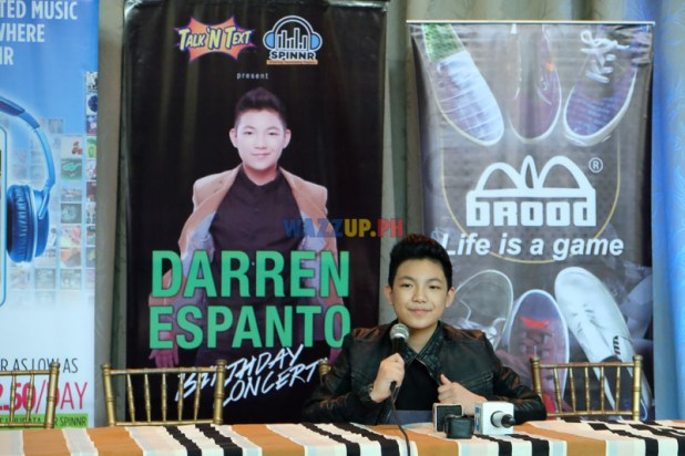 Darren Espanto Birthday Concert Photos