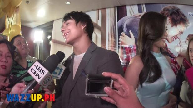 Just the way you are Grand Presscon One on One Interivews with Lisa Soberano Enrique Gil 2