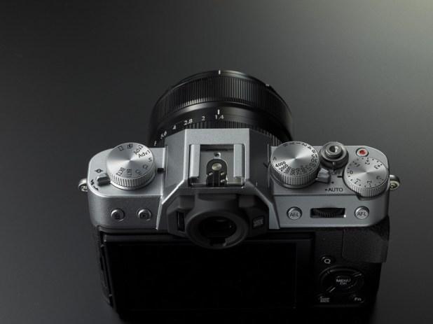 fujifilm X-T10 control Dials