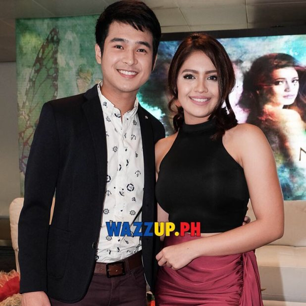 Corrine and Ryan @janeoineza @mrjeromeponce at the #NKNKKThanksgivingPresscon