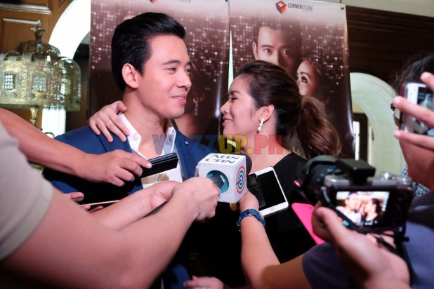 Erik Santos and Angeline Quinto at the Araneta Coliseum-DSCF4260