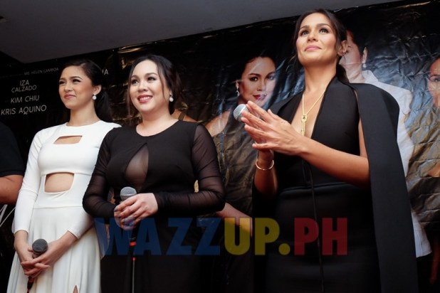 Video Coverage Etiquette for Mistresses Premiere Night with Kim Chiu Iza Calzado Claudine Barretto Wazzup PH-9723