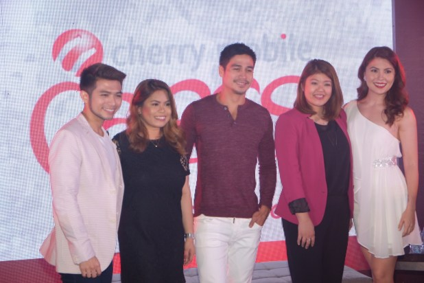 Piolo Pascual the new  OFW ambassador for Cherry Mobile. #CherryChristmas promo