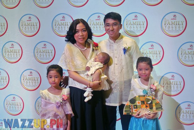 Jolibee 5th Family Values Award Philippines Joseph Tanbuntiong President Blog Blogger Duane Bacon Capilos