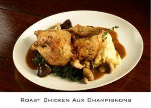 Roast Chicken Aux Champignons (1)