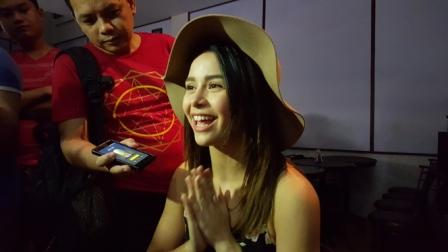 Yassi Pressman Inteviews at the Born to be a Star Presscon talks about Girlfriend for Hire with Andre Paras YaNdre