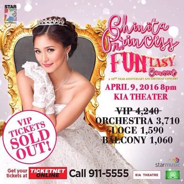 Kim Chiu Funtasy Concert Tickets Price Kia Theater KimXi April